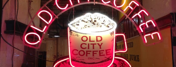 Old City Coffee is one of Lugares favoritos de Allison.