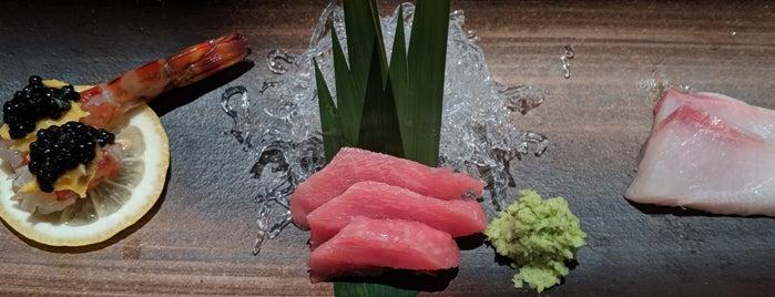 Ushiwakamaru is one of Michellin-Starred Restaurants in Manhattan 2018.