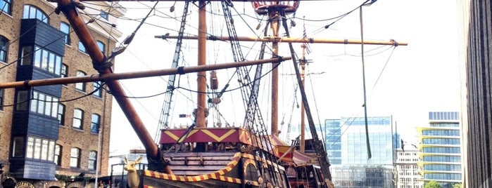 The Golden Hinde is one of Trips / London.