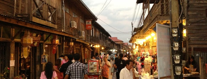 Chiang Khan Walking Street is one of Great places to visit in Thailand.