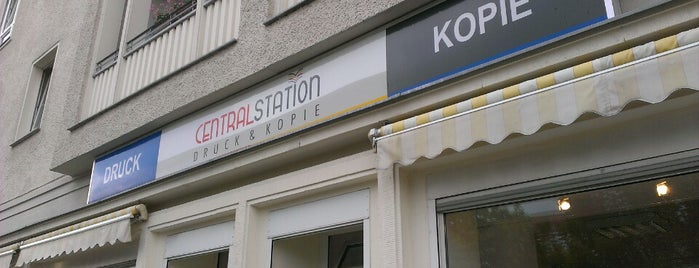Centralstation Druck & Kopie is one of Druckerei.