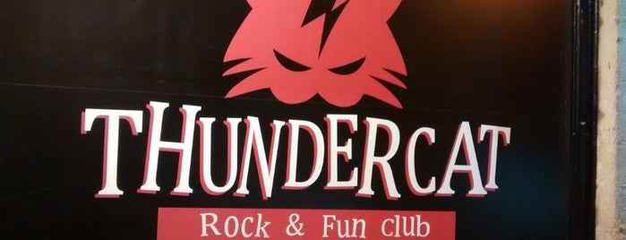 ThunderCat Club is one of Rock y Heavy Metal en Madrid.