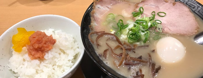 博多ラーメン 和 is one of Locais salvos de Hide.