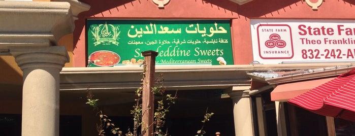 Saadeddine Pastries is one of Lieux sauvegardés par Fatih.