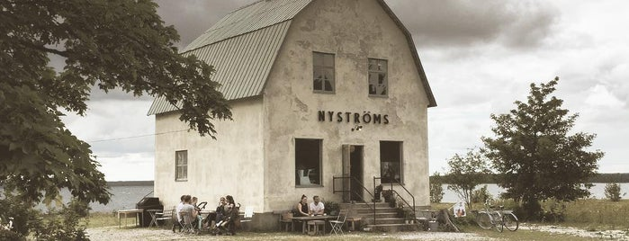 Nyströms Bungenäs is one of Gotland.