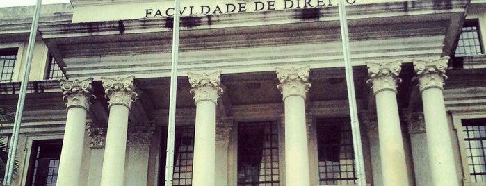 Faculdade de Direito da Universidade de São Paulo (FD/USP) is one of Sampa 460 :).