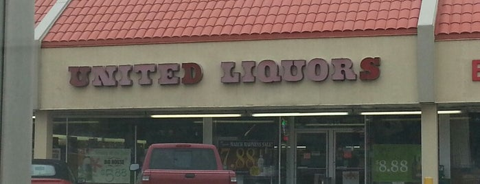 United Liquors Bloomington is one of All The Places I Can Think of That I've been.