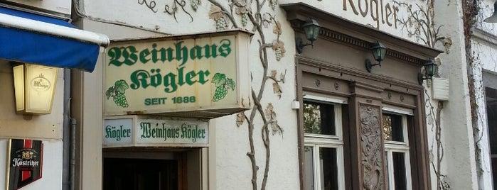 Weinhaus Kögler is one of Wiesbaden & Umgebung.