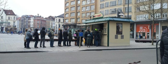 Frit' Flagey is one of S Marks The Spots in BRUSSELS.