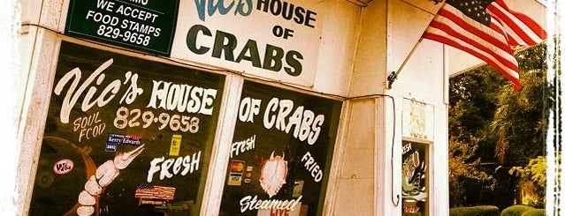 Vic's House of Crabs is one of St Augustine Florida.