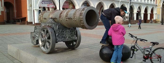 Копия Царь-пушки is one of Locais curtidos por Andrey.
