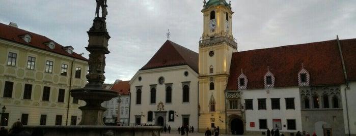 Hlavné námestie | Main Square is one of Anti-crisis Eurotrip.