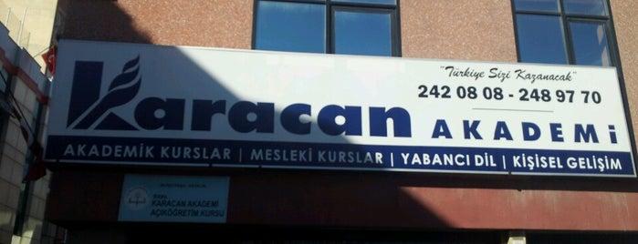 Karacan Akademi is one of Tempat yang Disukai Alp Gökçe.