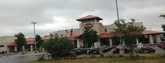 Central Texas Harley-Davidson is one of Alex-Airbrush's Liked Places.