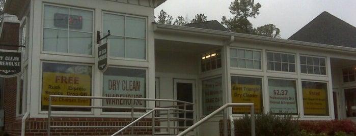 Dry Clean Warehouse is one of Tempat yang Disukai h.