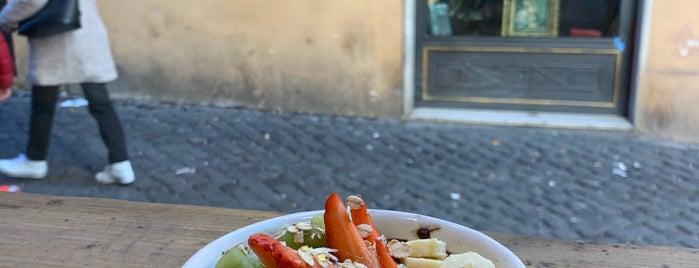 Escosazio | Juice Bar is one of Roma Comer.