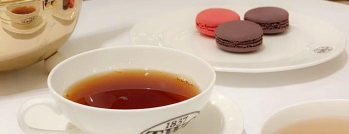 TWG Tea is one of London 🇬🇧 Coffee & treats.