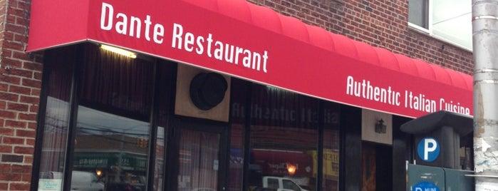 Dante Restaurant is one of Tempat yang Disukai Mario.