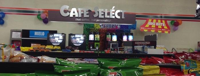 7- Eleven is one of สถานที่ที่ Jorge ถูกใจ.