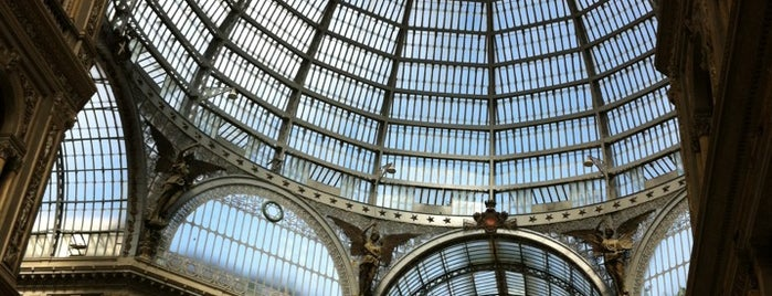 Galleria Umberto I is one of Neapol.