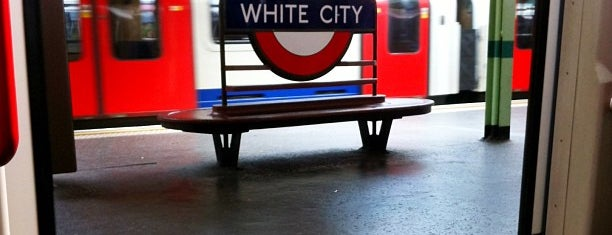 White City London Underground Station is one of Locais salvos de Ian.