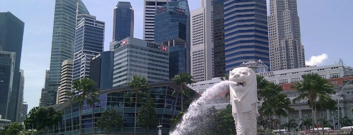 The Merlion is one of Singapore.