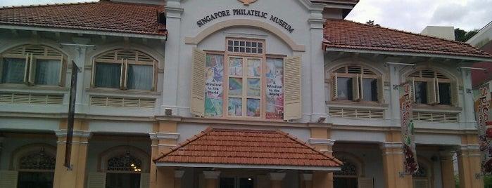 Singapore Philatelic Museum is one of Singapore.