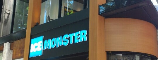 ICE MONSTER is one of Cynthia 님이 저장한 장소.