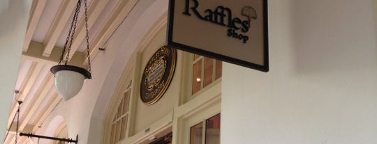 Raffles Hotel is one of Singapore.