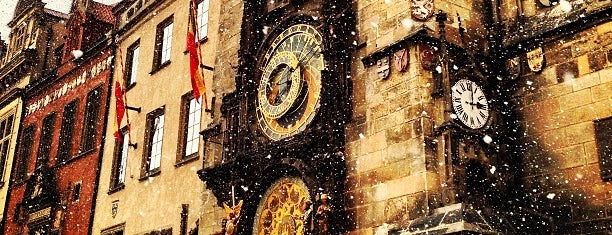 Horloge astronomique de Prague is one of Lieux qui ont plu à Pelin.