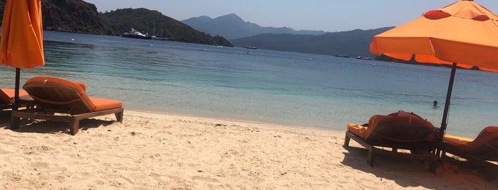 Maris Beach is one of M'ın Beğendiği Mekanlar.