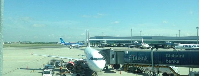 Flughafen Prag Václav Havel (PRG) is one of สนามบินนานาชาติ (1).