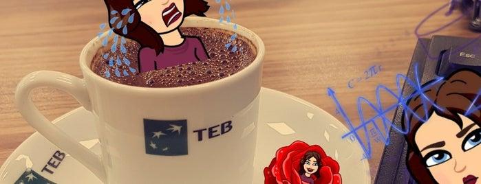 TEB is one of Erkan 님이 좋아한 장소.