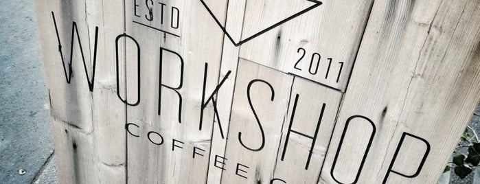 Workshop Coffee Co. is one of London 2016.