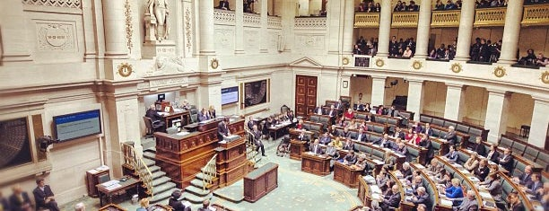 Belgian Federal Parliament (Federaal Parlement van België) is one of favs.