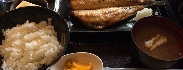 焼魚食堂 is one of Locais salvos de Hide.
