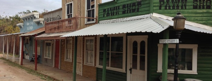 Pioneer Town is one of Austin Out & About (sights).
