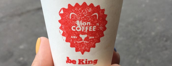 LION Coffee is one of Kiev.