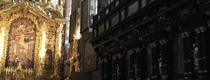 Bazylika Bożego Ciała is one of Lugares favoritos de Carl.