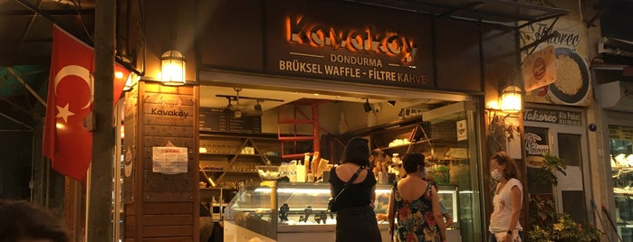 Kavaköy Dondurma Kahve Çikolata is one of Posti che sono piaciuti a Çağlar.