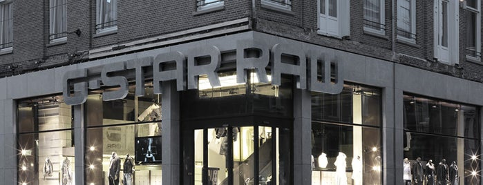 G-Star RAW Store is one of Amsterdam, The Netherlands.