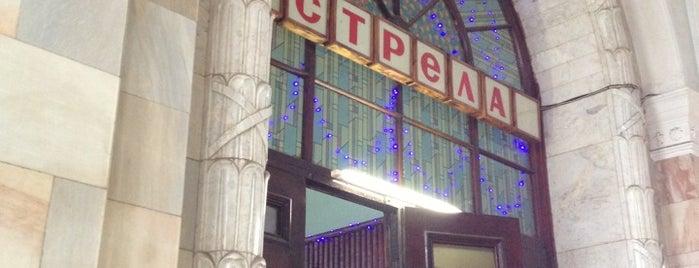 Буфет Стрела на жд вокзале в Серпухове is one of Съедобные места Серпухова.