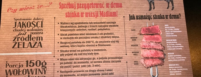 Steakownia is one of Warsaw.