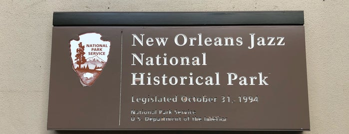 New Orleans Jazz National Historical Park is one of NOLA.