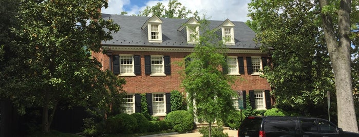 Bill and Hillary Clinton's house is one of Tim: сохраненные места.