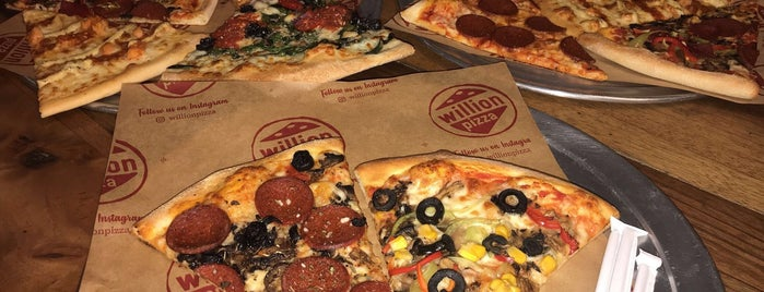 Willion Pizza is one of Zomato Gold.