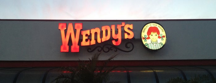 Wendy's is one of Orte, die Antonia gefallen.