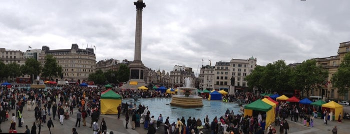Trafalgar Square is one of Must go when you are in London.