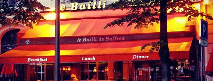 Le Bailli de Suffren is one of Lieux gourmands et gourmets.
