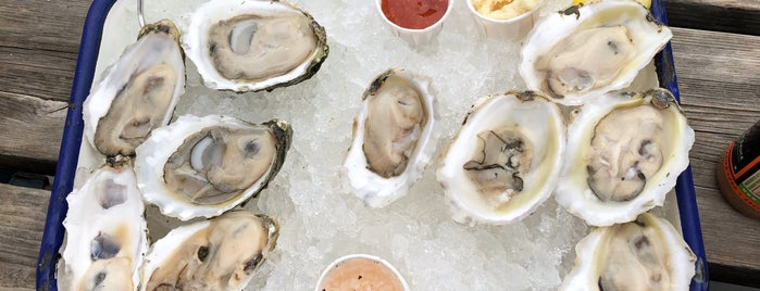 The Shop - Raw Bar & Shellfish Market is one of Portland, Maine.
